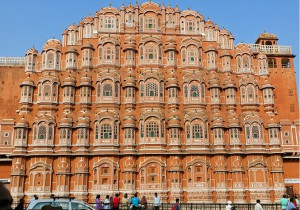 """Hawa Mahal"" Palace of the Winds"