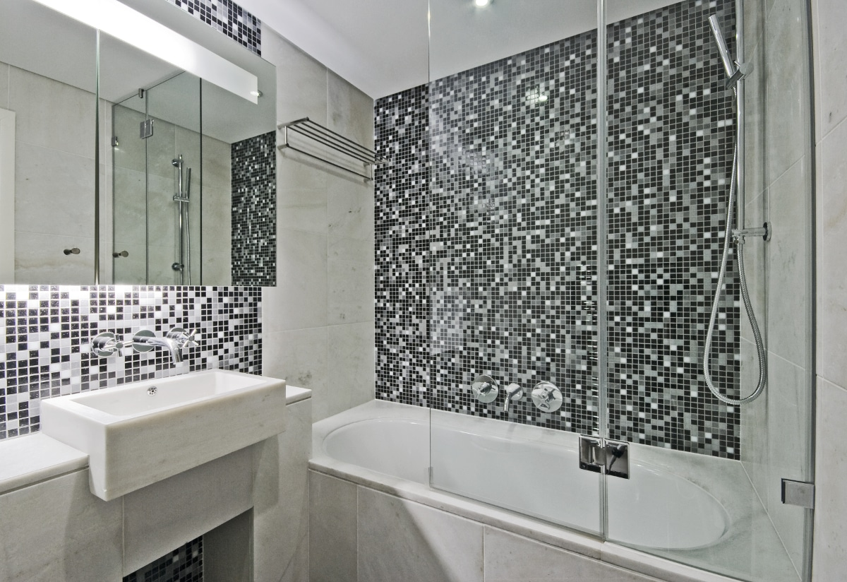 Bathrooms that beckon living magazine for Carrelage metropol