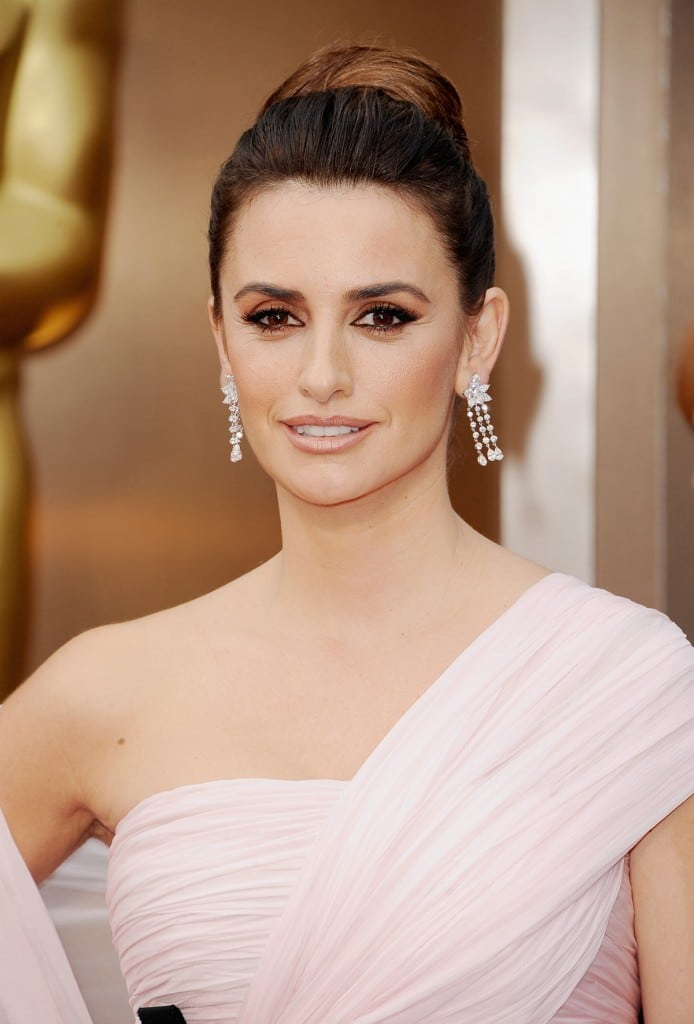 Actress Penelope Cruz (wearing Chopard) attends the Oscars held at Hollywood & Highland Center on March 2, 2014 in Hollywood, California.  (Photo by Steve Granitz/WireImage)