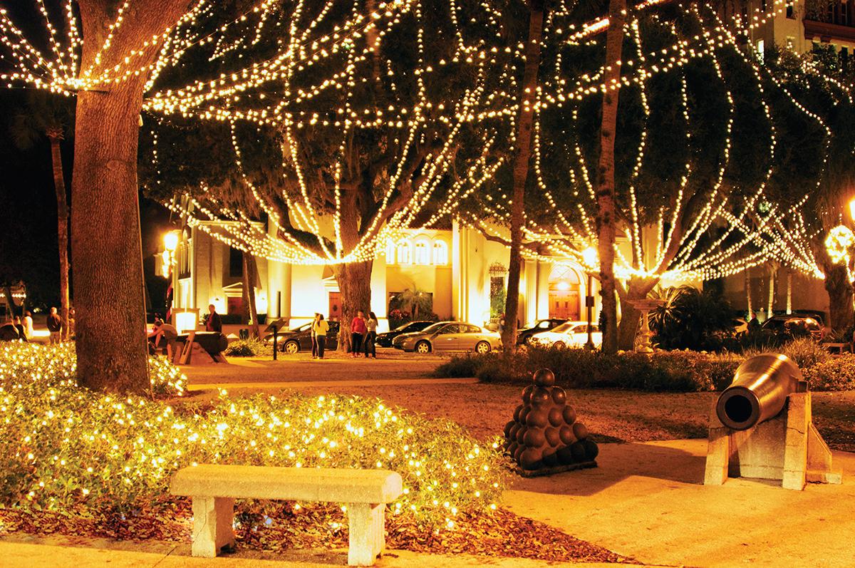 Tiny White Christmas Lights