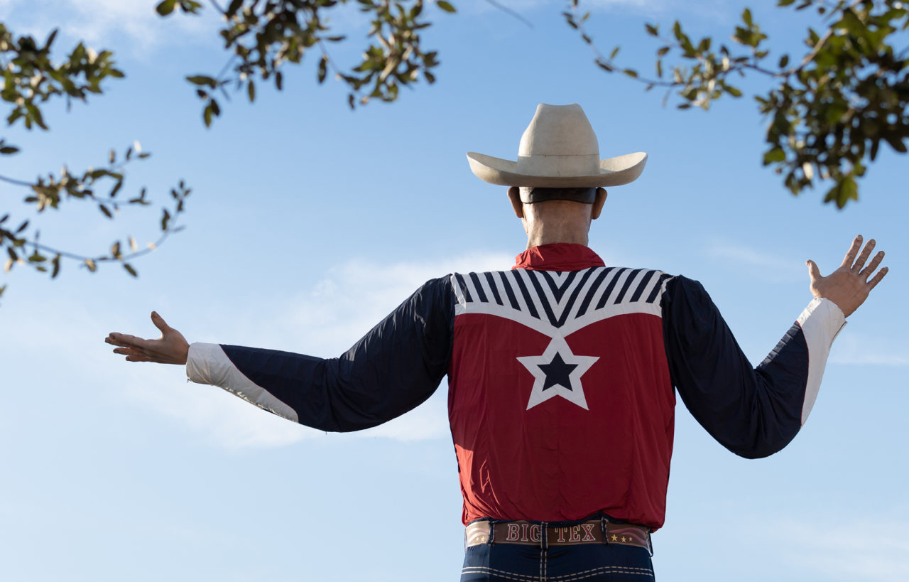 """Robert """"Bob"""" Boykin Big Tex State Fair of Texas"""