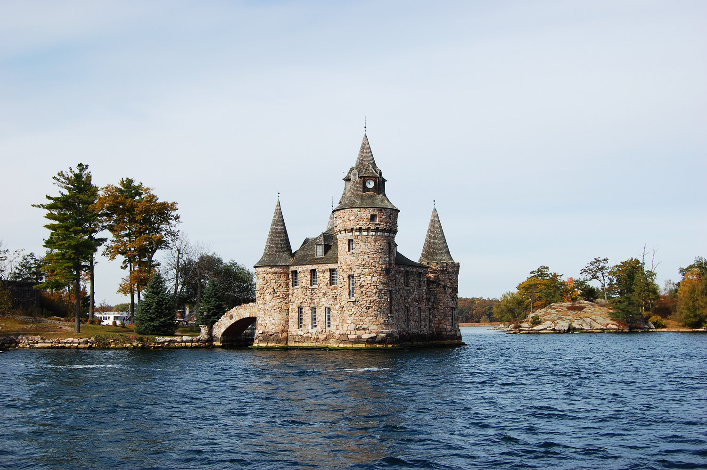 Bolt Castle on Heart Island thousand island tourism info