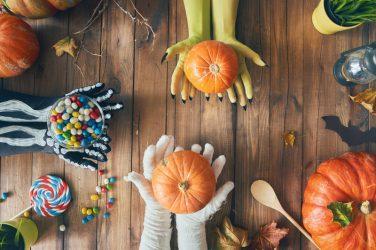 making halloween memories