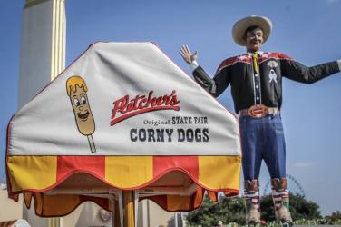 fletcher's corny dogs pop up