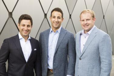 Michael Guirguis, Brent Fleming, and James Guirguis, DDS Richardson Dentistry