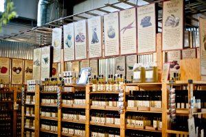 Olive Oil Shelves