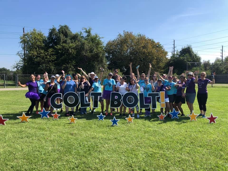 Pattison Elementary's annual Colt Bolt Fun Run Fundraiser