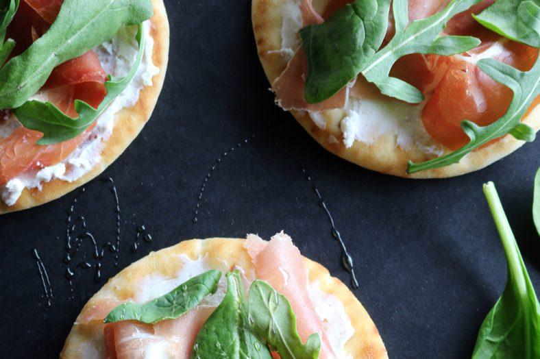 Prosciutto and Greens Skillet Flatbread Recipe