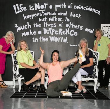 MillHouse McKinney Beth Beck, Aimee Woolverton, Dana Brook, Megan Huff, and Gail Delger