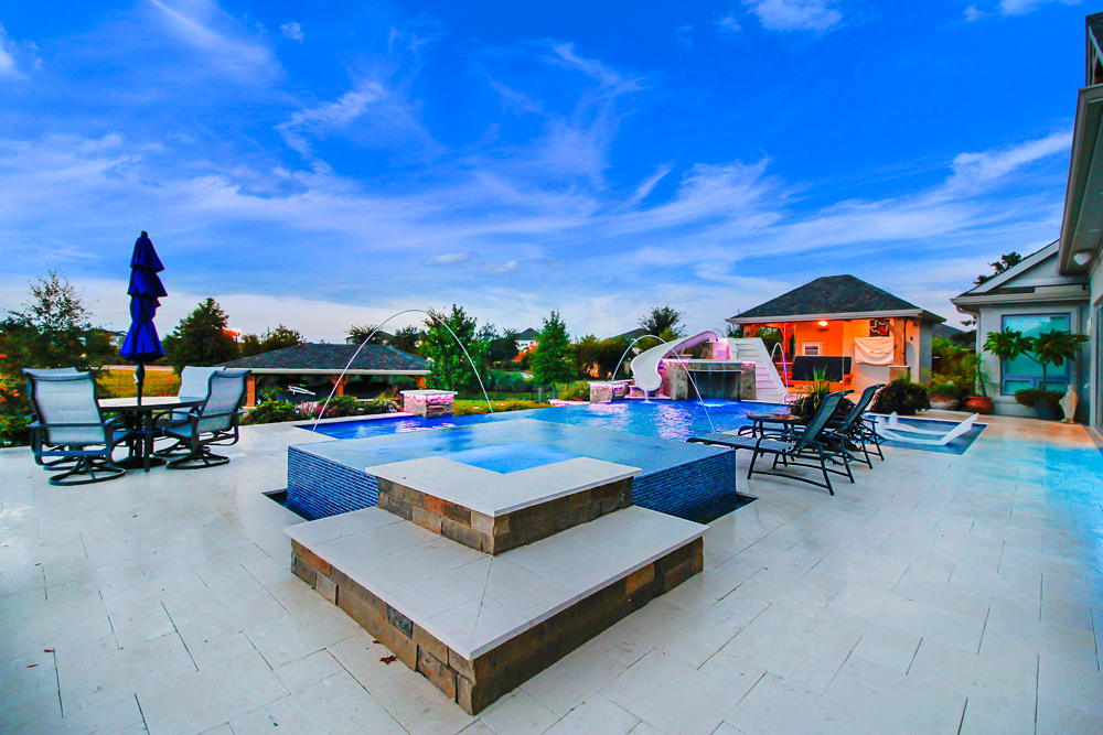 houston texas dream backyard pool