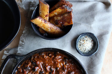 Short Rib and Black Bean Chili