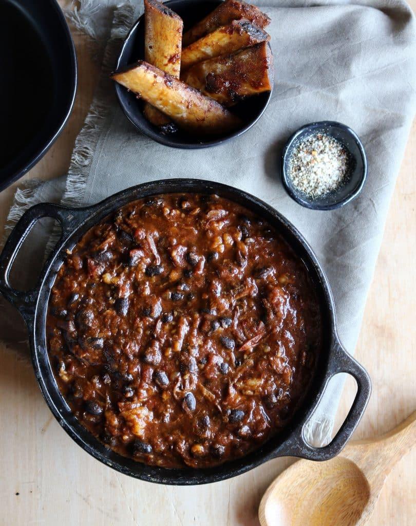 Tate Farms Short Rib & Black Bean Chili