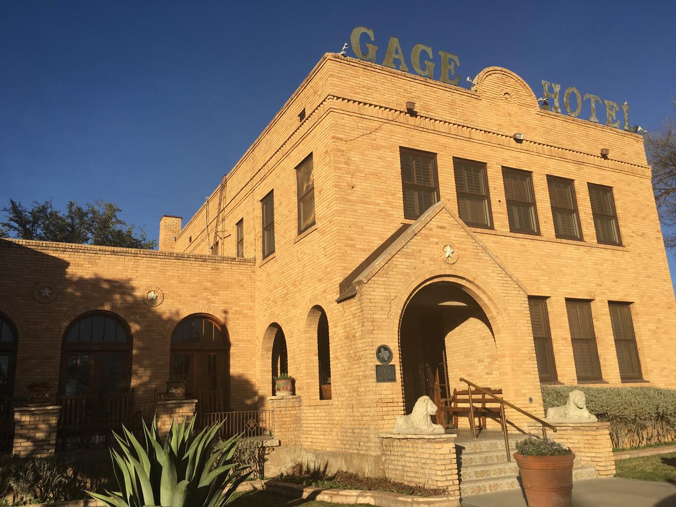 Gage Hotel Marfa Tx