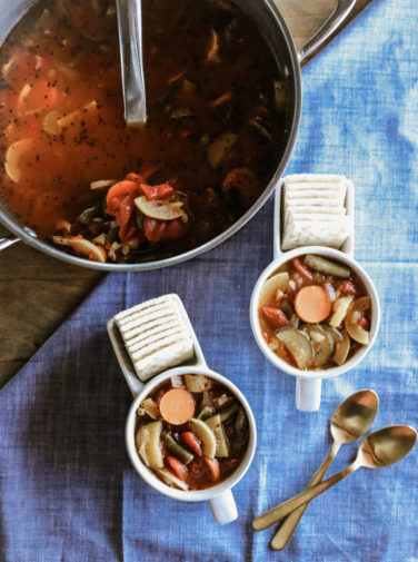 Classic Vegetable Soup Recipe